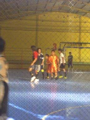 Futsal, anak vs cewek SMA