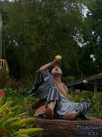 Patung dewa mabuk