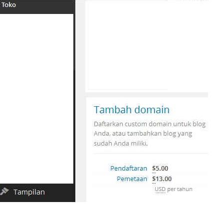 Cara menjadikan blog dengan domain sendiri