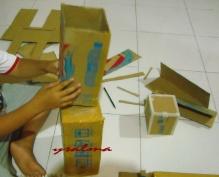 Merangkai kotak