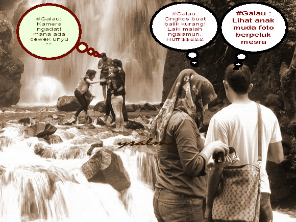 Foto Hasil Ngintip: #Galau-Melihat Orang 'Mesra'