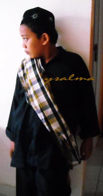 'Pakaian Khas Sunda' anak Cowok
