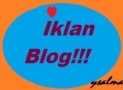 Iklan di Personal Blog