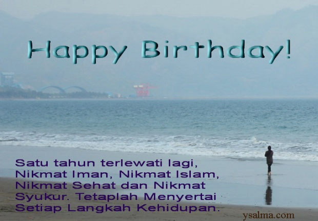Selamat Ulang Tahun (Happy Birthday)