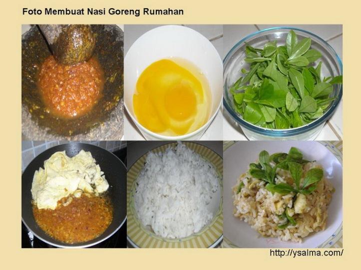 Cara Mudah Menikmati Nasi Goreng Rumahan