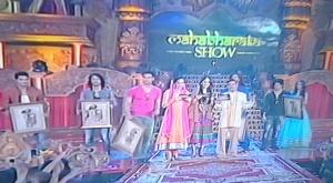 Pemain Mahabharata dan cendramata wayang kulit