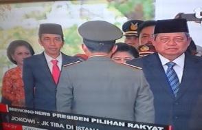 Presiden Baru nyampe istana