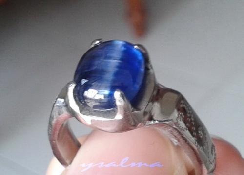 Batu Cincin Blue Safir