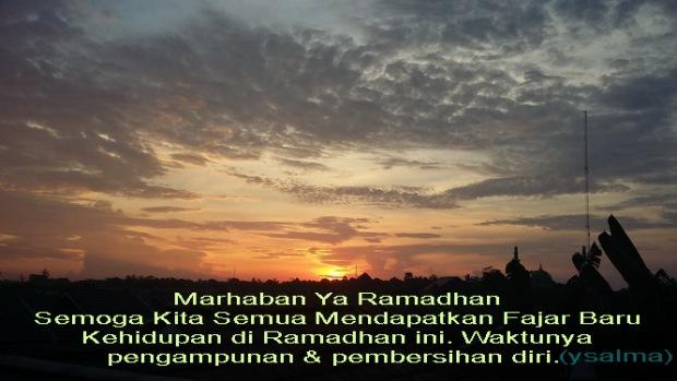 Kebiasaan Unik Menjelang Ramadhan Fajar Baru Kehidupan