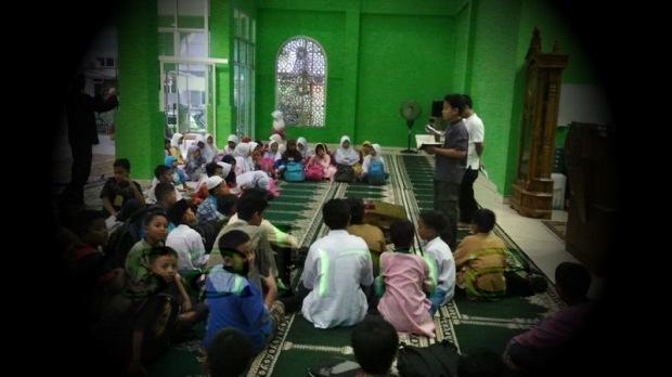 Mabit Pertama di Masjid Rabiatul Adawiyah