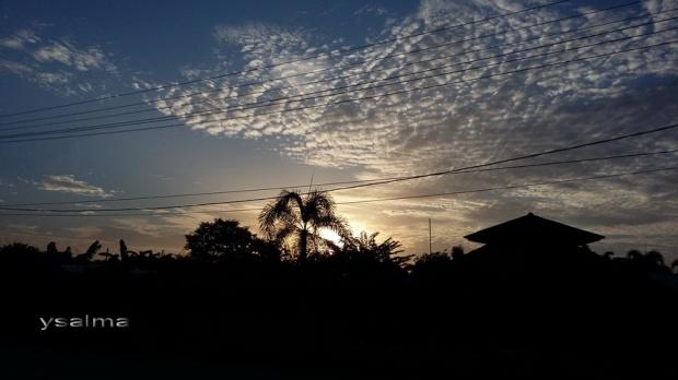 Catatan Mudik 2016 Matahari pagi di Lampung