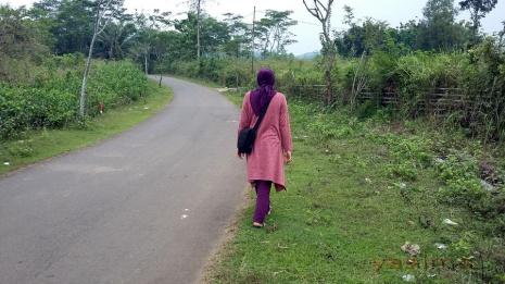 Wisata Desa Ligarmukti Jalan Berbelok