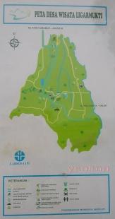 Wisata Desa Ligarmukti Peta Lokasi Wisata