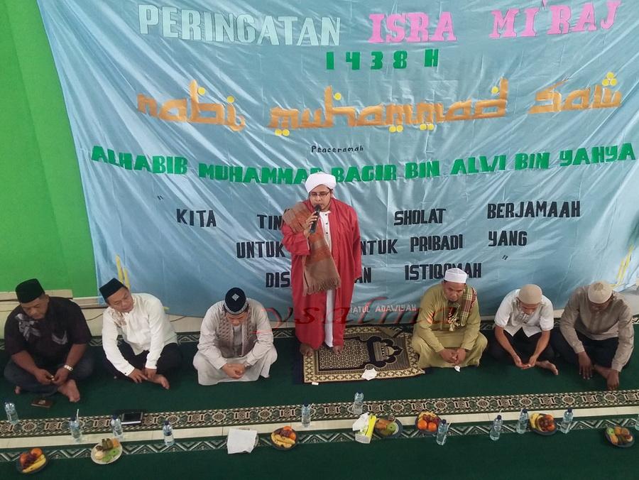 Peringatan Isra Mi'raj 1438H Masjid Rabiatul Adawiyah