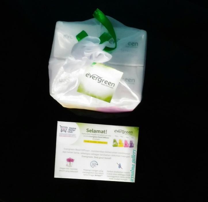 Paket Cantik Evergreen dari Home Tester Club
