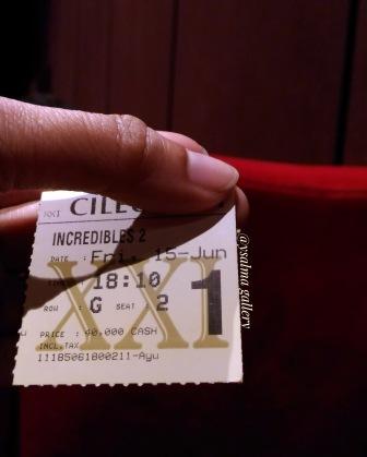 Tiket Nonton Incredibles 2_YSalma