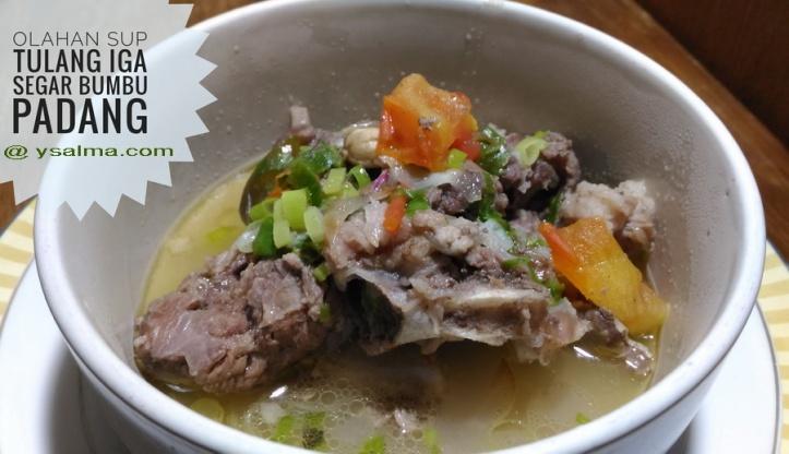 Resep Sup Tulang Iga Padang