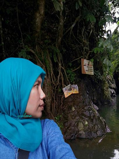 Selfie di Green Canyon Karawang_YSalma
