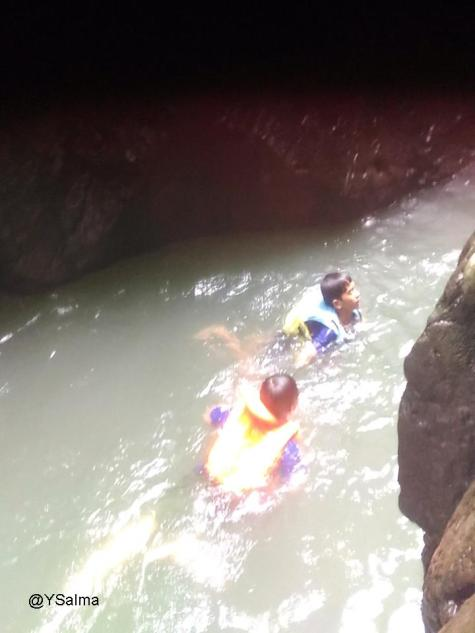 Uji Nyali Menyusuri Green Canyon_YSalma