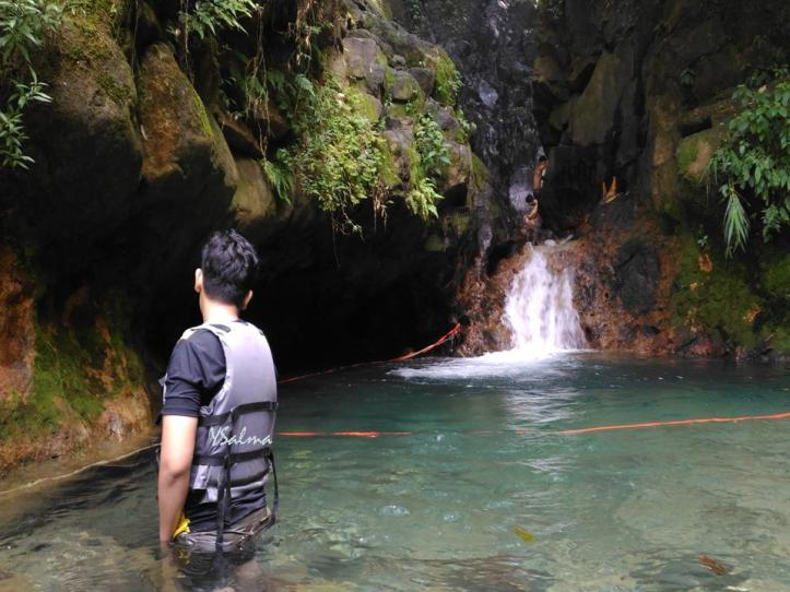 Air curug Cibulao Paseban bening