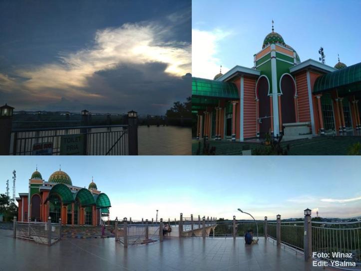 View Cantik Masjid Raya Baitul Makmur