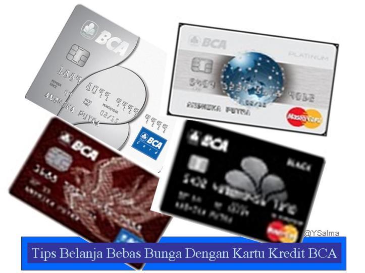 Belanja bebas bunga dengan kartu kredit BCA