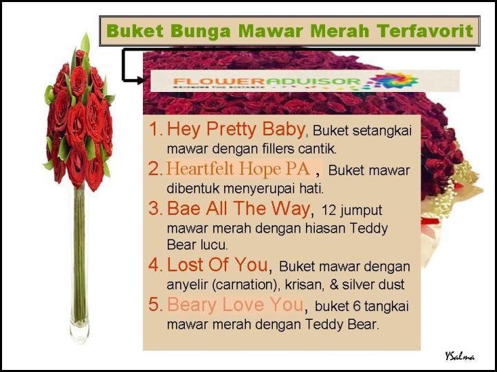 Buket Bunga Mawar Terfavorit Flower Advisor