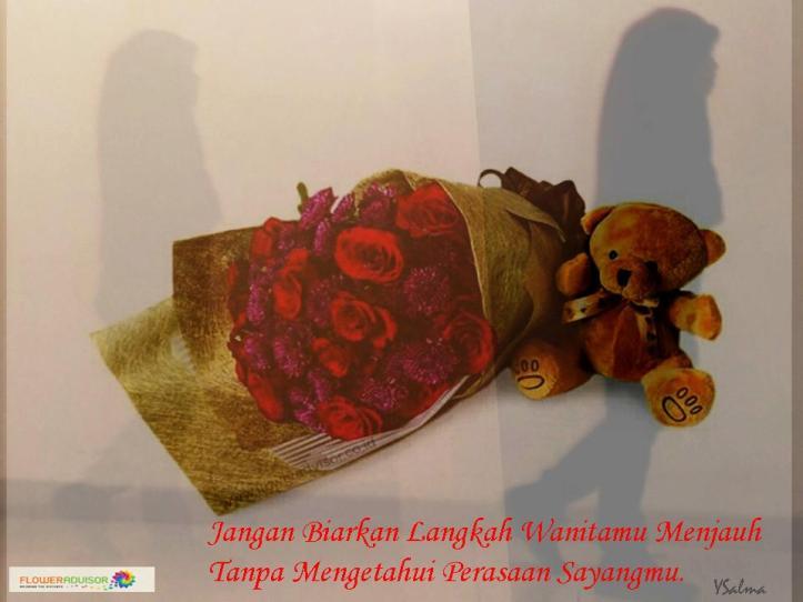 Katakan Cinta Dengan Buket Mawar Merah Segar