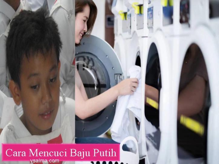 Cara Mencuci Baju Putih Anak