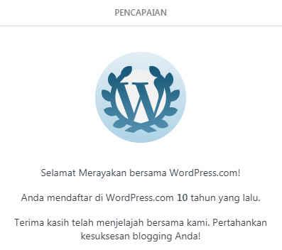 YSalma blog pencapaian sepuluh tahun