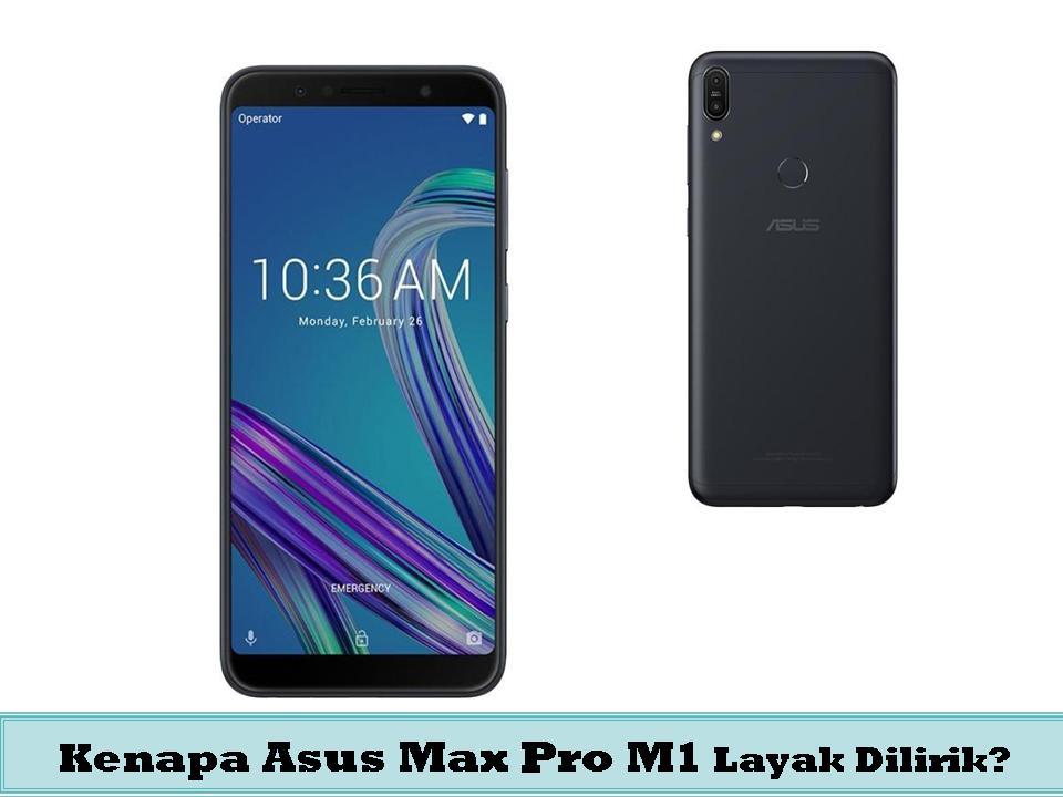 Asus max pro M1 ponsel unggulan