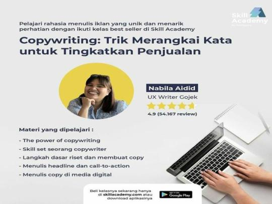 mentor belajar copywriting skill academy