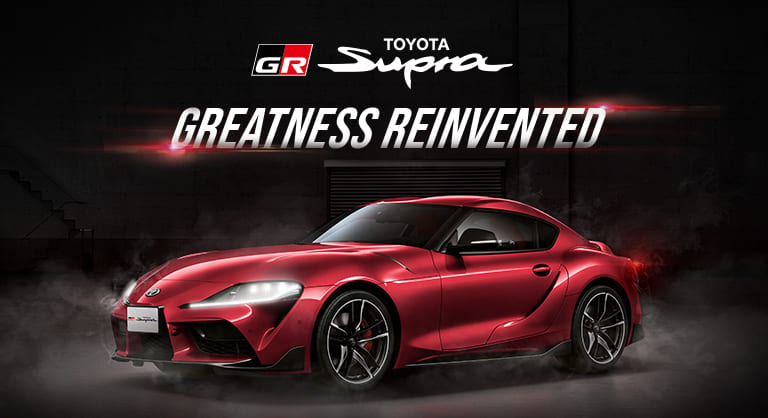 Toyota Supra terbaru aerodinamis