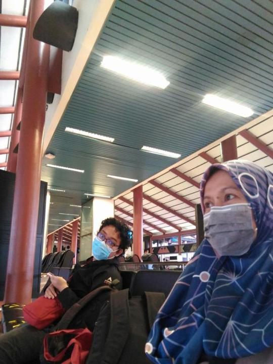 perjalanan masa pandemi berdua