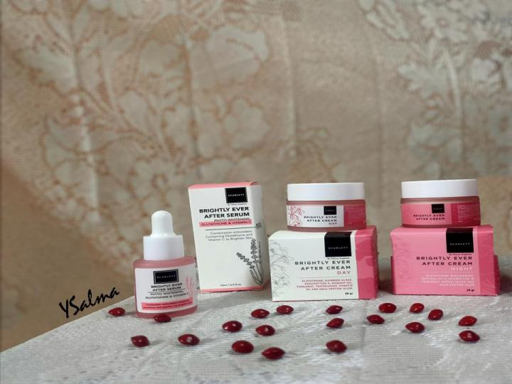 Face care Scarlett Whitening brightly series