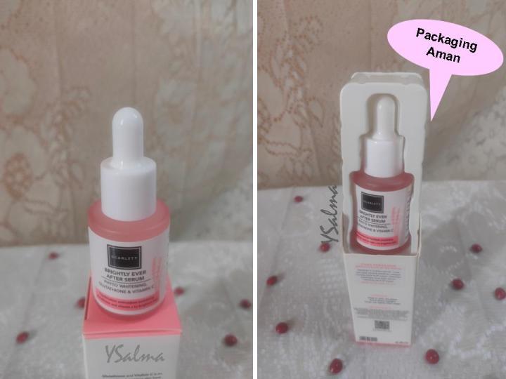 Face care Sacrlett packaging atau kemasan serum