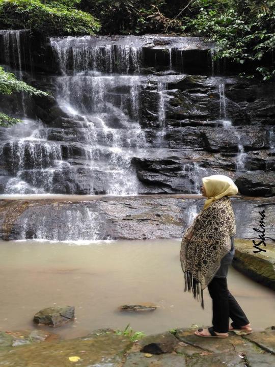 foto curug country miniatur air terjun niagara