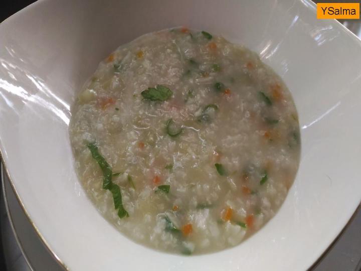 bubur nasi untuk diare dan orang sakit