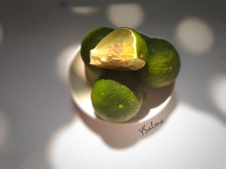 Bahan dapur skincare alami jeruk nipis